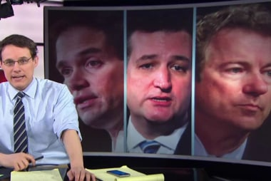 Paul, Rubio, Cruz fight on the Senate floor
