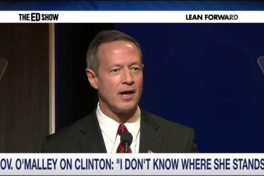 O'Malley gears up to challenge Clinton