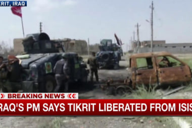 Iraqi PM: Tikrit liberated from ISIS control