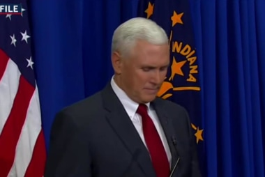 Indiana Gov. Pence signs revision to bill