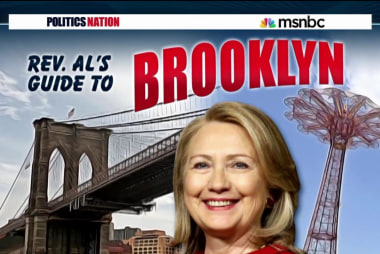 Welcome to Brooklyn, Hillary Clinton