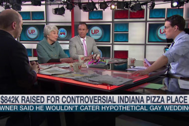 Fundraiser for controversial pizza place