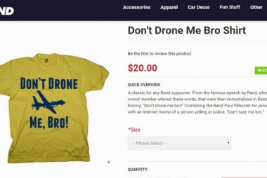 'Strange' items in Rand Paul store