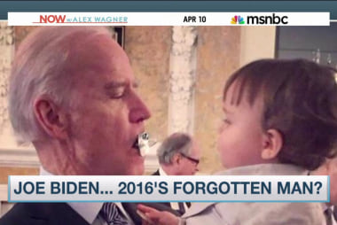 Biden put a baby's pacifier in his mouth?!