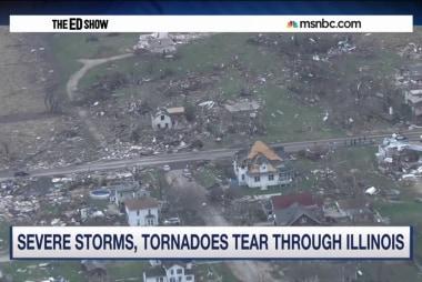 Tornadoes tear through Illinois