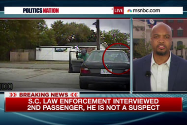 Who was in the car with Walter Scott?