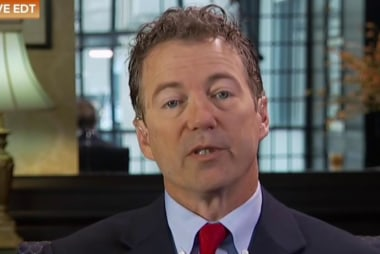 Rand Paul battles with reporters