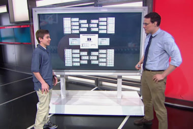 The 6th grader who aced bracketology