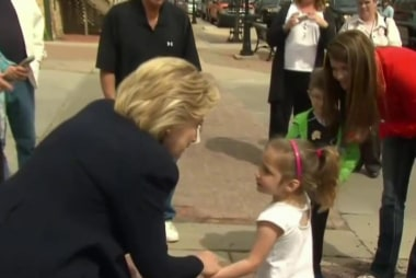 Clinton: 'Thanks for saying hello!'