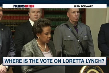 Civil rights leaders push for Loretta Lynch