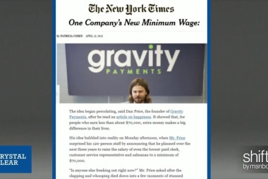 CEO cuts salary to lift employee wages to ...
