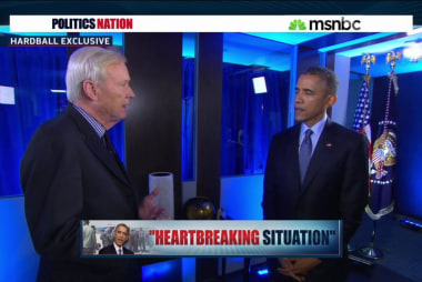President Obama discusses Africa
