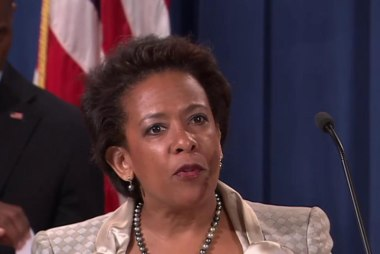 Finally: Loretta Lynch confirmed