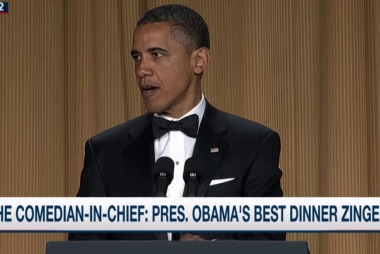 The best of Pres. Obama at the WHCD