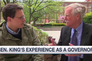 Sen. Angus King on drone program, trade deal