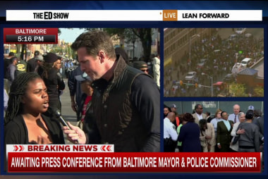 Baltimore resident: 'Enough is enough'