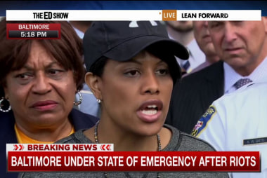 Mayor: Monday was 'very rough' for Baltimore