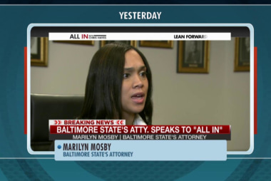 Prosecutor Marilyn Mosby defends charges