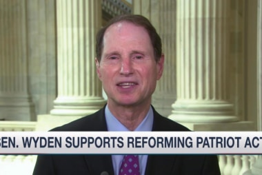 Wyden: I'll filibuster Patriot Act extension