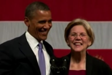 Pres. Obama & Sen. Warren battle over trade