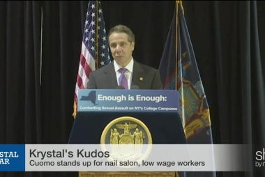 Cuomo stands up for nail salon workers
