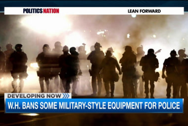 New limit on police using military equipment
