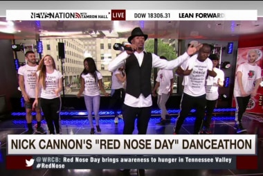 Red Nose Day with Nick Cannon