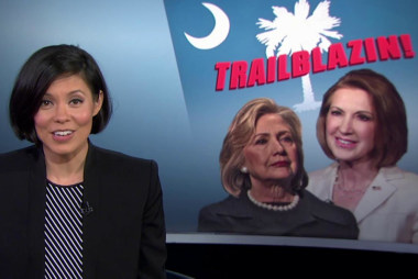 Carly Fiorina shadows Clinton in South...