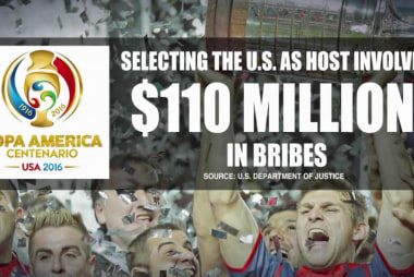 US leads the charge against FIFA