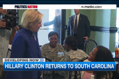 Hillary Clinton connects in South Carolina
