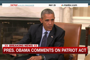 President Obama discusses Patriot Act debate