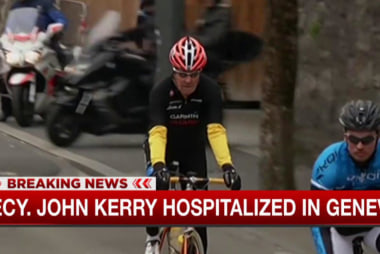 John Kerry hospitalized in Geneva
