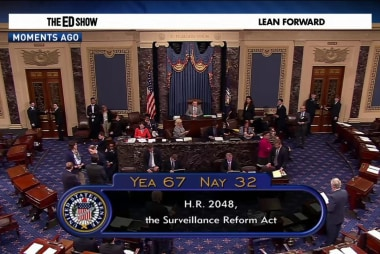 Senate approves NSA surveillance reform bill
