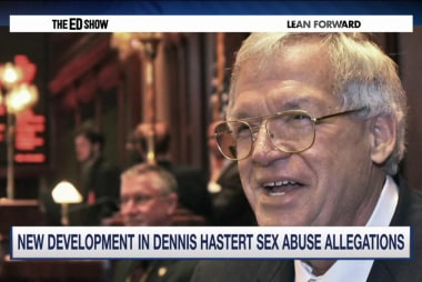Woman says Hastert sexually abused her...