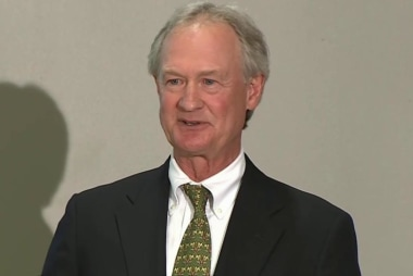 Chafee raises eyebrows with call for metric