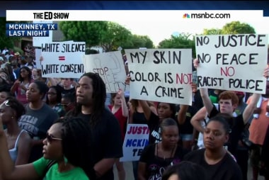 McKinney protest draws hundreds