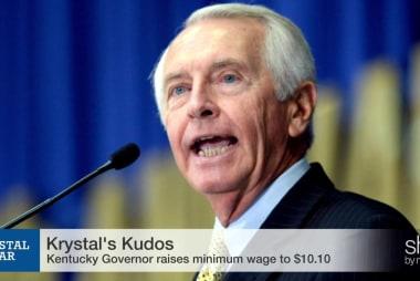 KY Gov. raises minimum wage, Republicans...