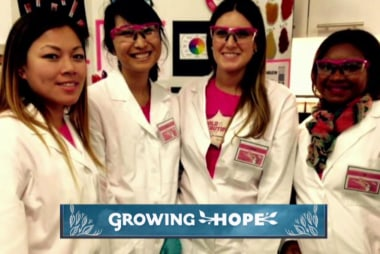 Growing Hope through Girls Inc.