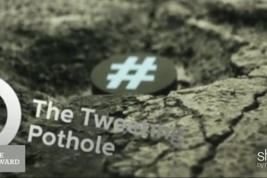 Meet the pothole that tweets!