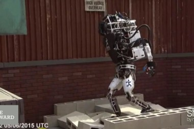 A look inside the DARPA Robotics Challenge