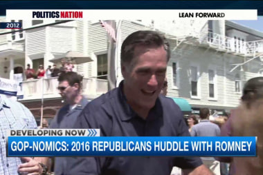2016 GOP field looks to Romney for help