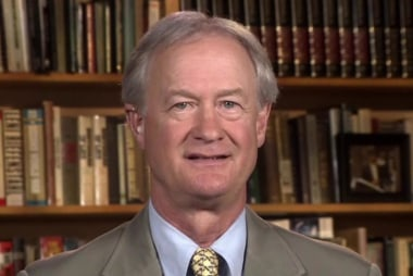 Lincoln Chafee challenges Clinton on trade