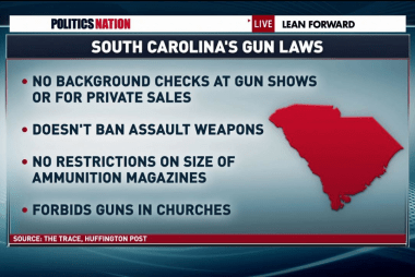 South Carolina's battle with guns
