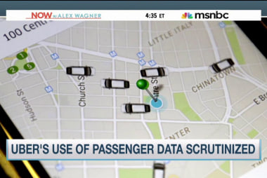 Uber's use of passenger data scrutinized