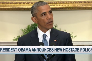 President Obama to change hostage policy