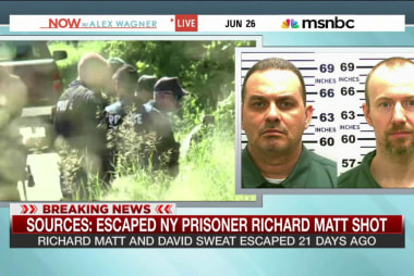 Sources: Escaped prisoner Richard Matt shot
