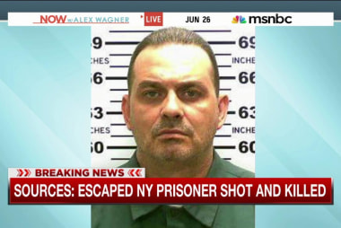 NY escaped prisoner Richard Matt shot and...