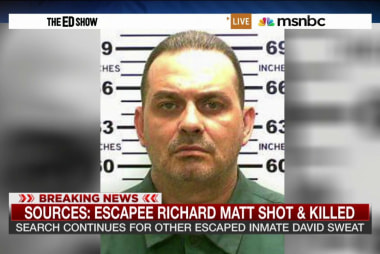 Escapee Richard Matt shot dead