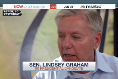 Sen. Graham on his 'bromance' with John...