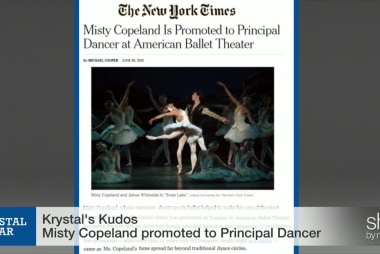 Misty Copeland's dream comes true